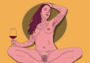 louisa foley-wine girl.jpg