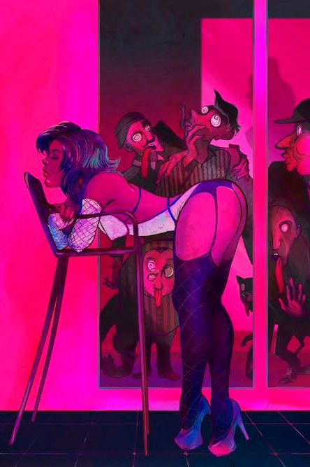 valeria ko - VALERIA IS A MOSCOW-BASED ARTIST WHOSE COLOURFUL PAINTINGS EXPLORE FEMININITY IN ITS MANY FORMS.