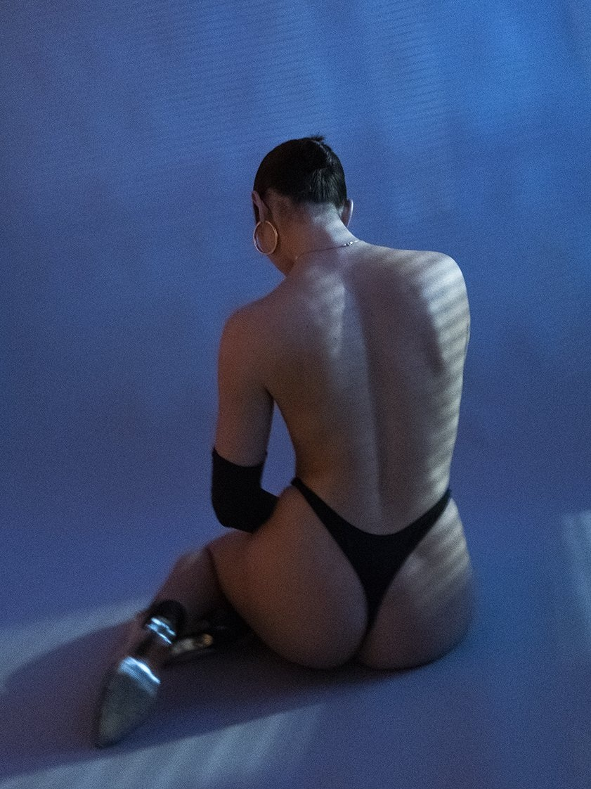 CUCCIA - Created by photographer turned intimates designer, Rachel Cuccia introduces her line of undergarments as a continuous medium to express themes of nostalgia and the extreme duality of human emotions.