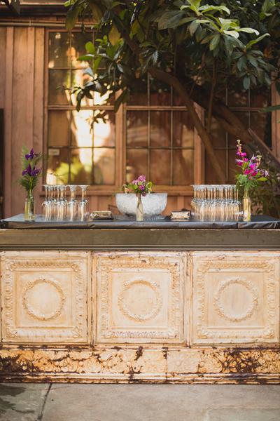 Antique Tin Bar