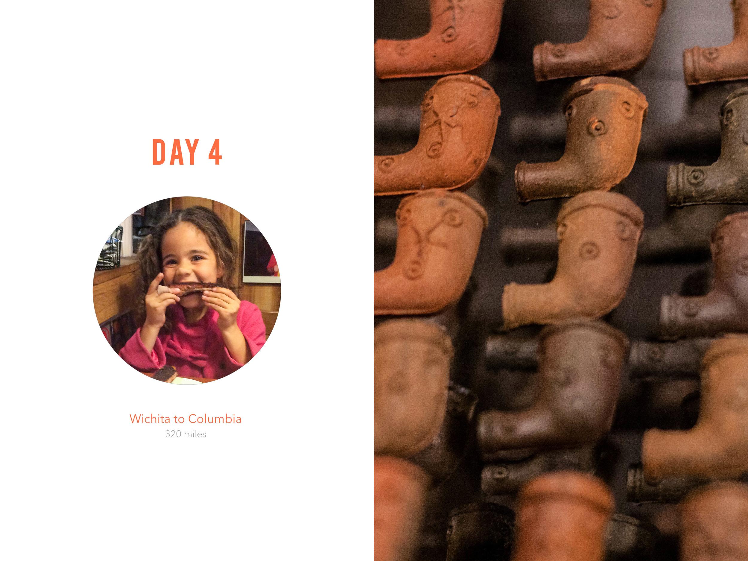 Kansas City Steamboat Arabia Museum photobook layout