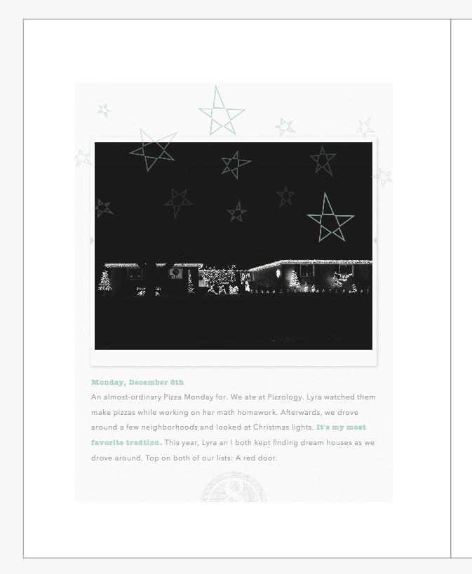 December Daily 2014 photo book   christmas lights   yolandamadethis.com