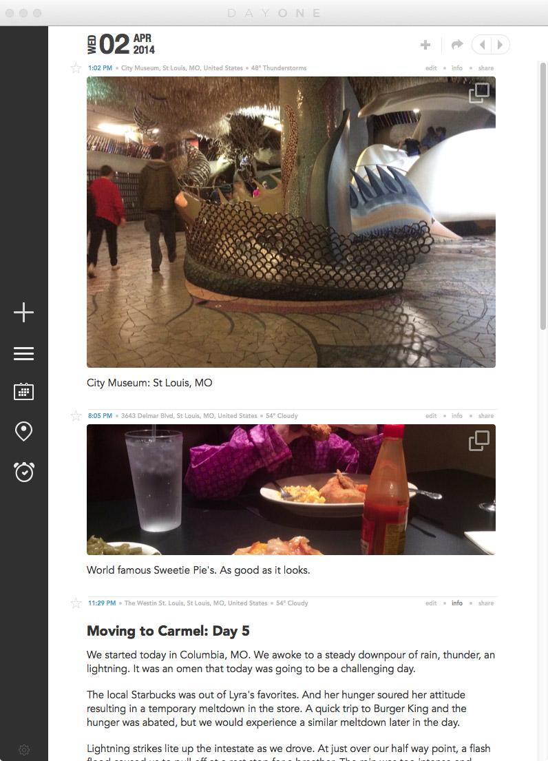 Travel journaling using the DayOne App | yolandamadethis.com