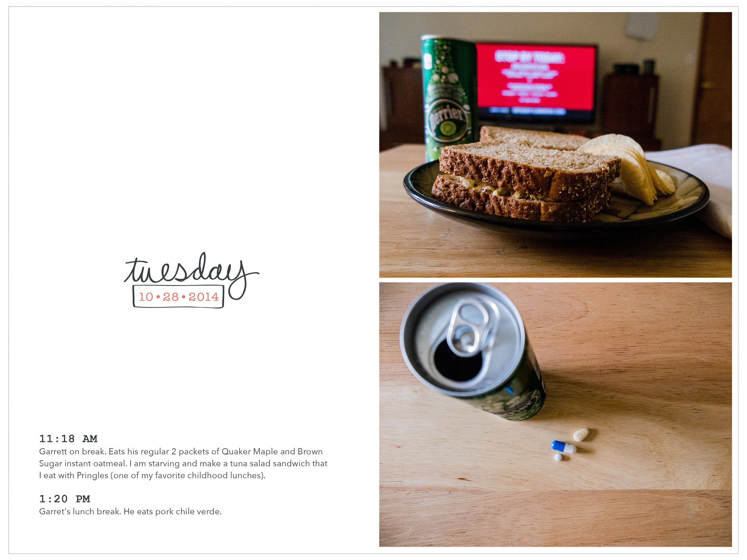 Week in the Life 2014-Tuesday: Lunch | yolandamadethis.com