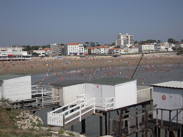 Plage de Pontaillac, Royan -    Patrick Janicek   , Creative Commons    Licence