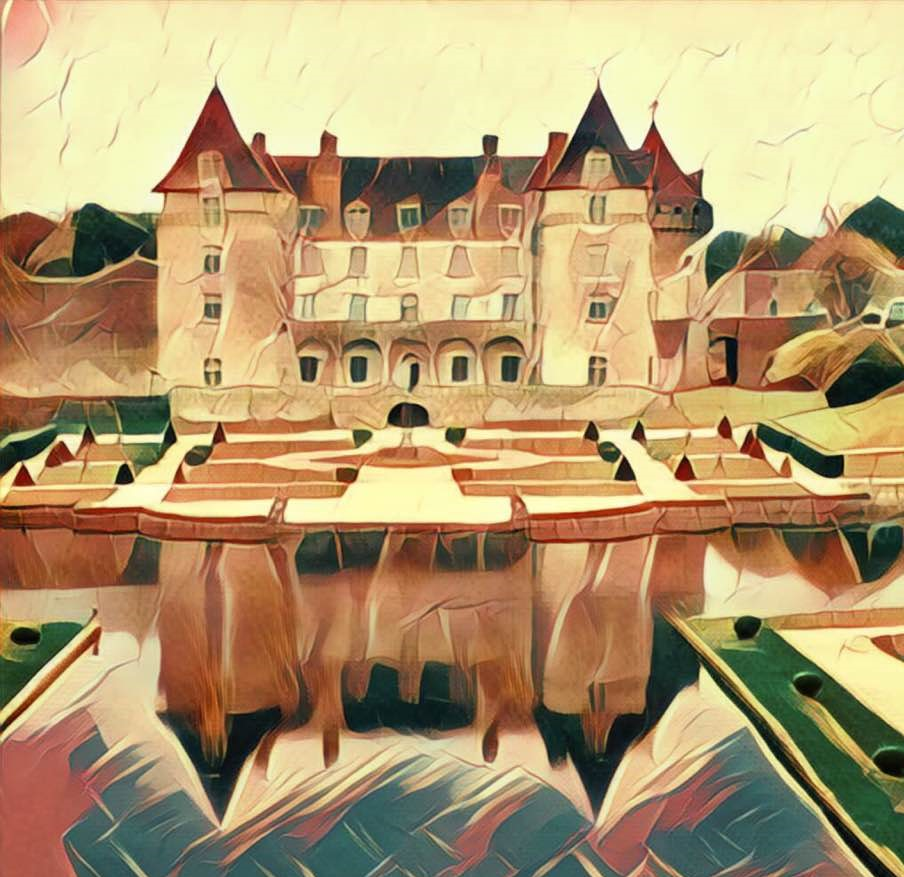 Le Chateau de la Roche Courbon: an 'arty' makeover for a favourite haunt!