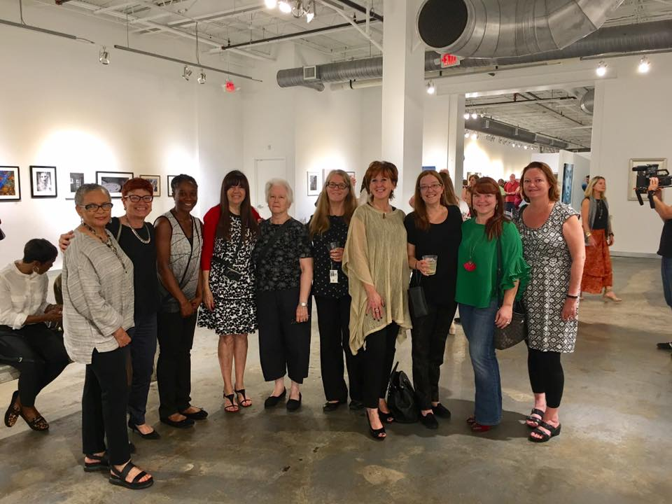 Women In Focus members at Mason Fine Art Gallery during our exhibition in conjunction with Atlanta Celebrates Photography