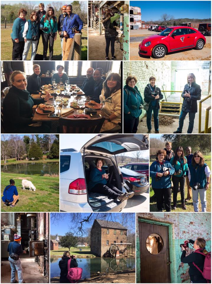 Field trip to Lindale Mill, March/2017