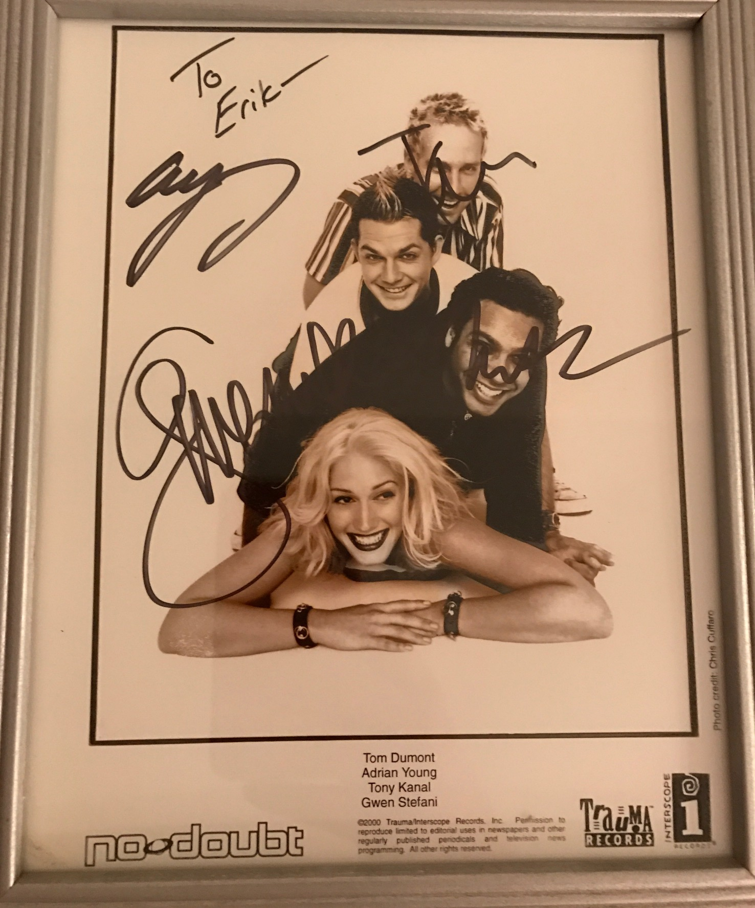 No Doubt photo signed.jpg
