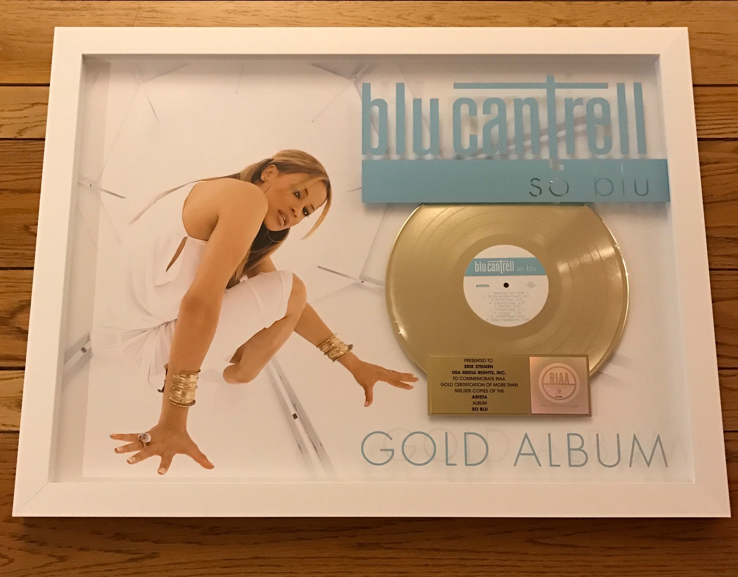 Blu Cantrell So Blu plaque.jpg