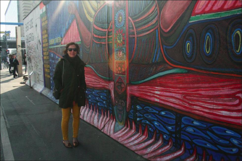 Berlin Wall, Berlin, Germany; March 2012; Photo by Pamela Afram