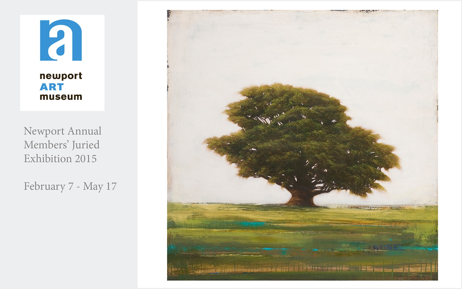 """""""Fortuity"""" takes first place in painting at the Newport Art Museum Exhibition.   Alyson Baker who is the director of the Aldrich Contemporary Art Museum in Ridgefield, CT was the juror for this exhibition."""