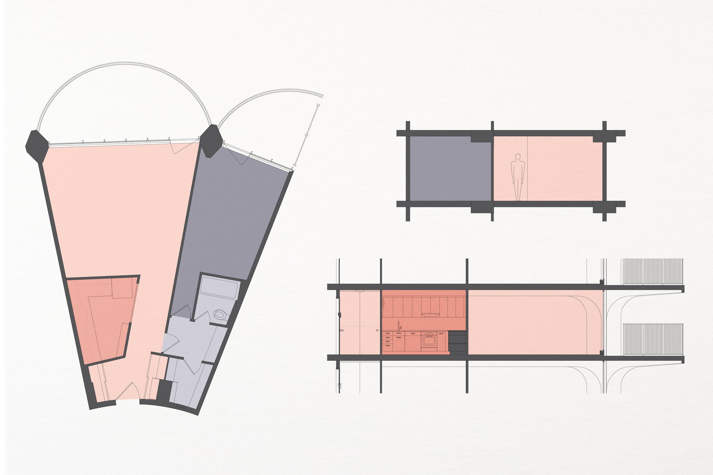 1964: Original layout