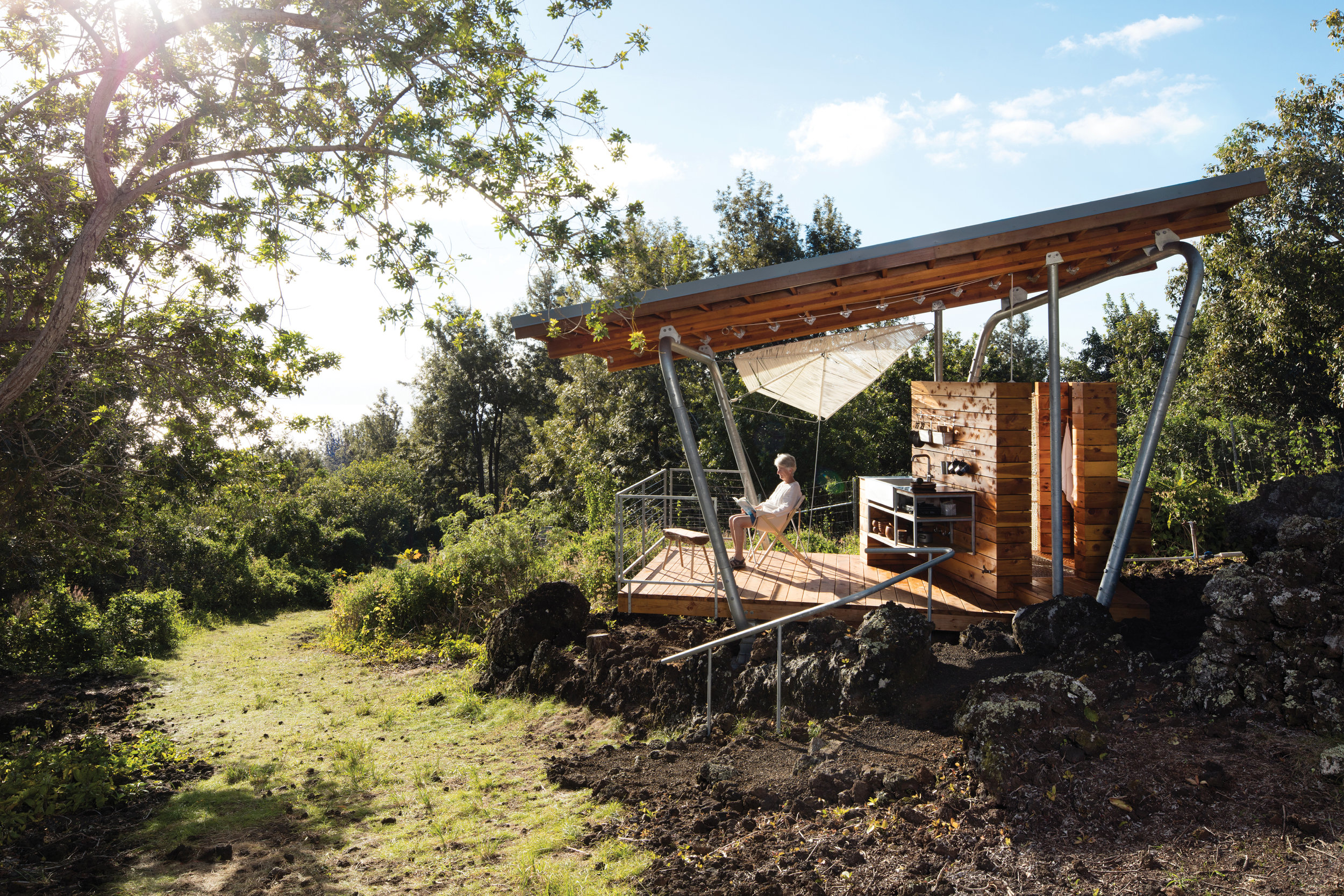 FIRST PLACE: 'Outside House' by Erin Moore / FLOAT Architectural Research and Design