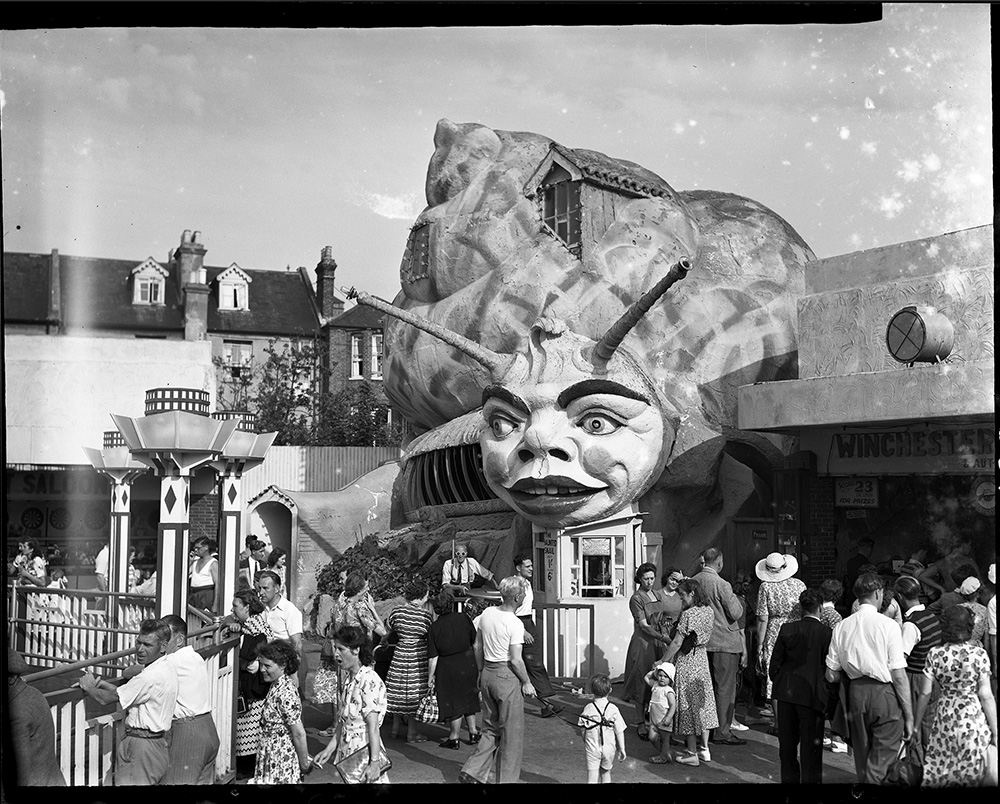 Haunted Snail, circa 1950. Image from the  SEAS Archive