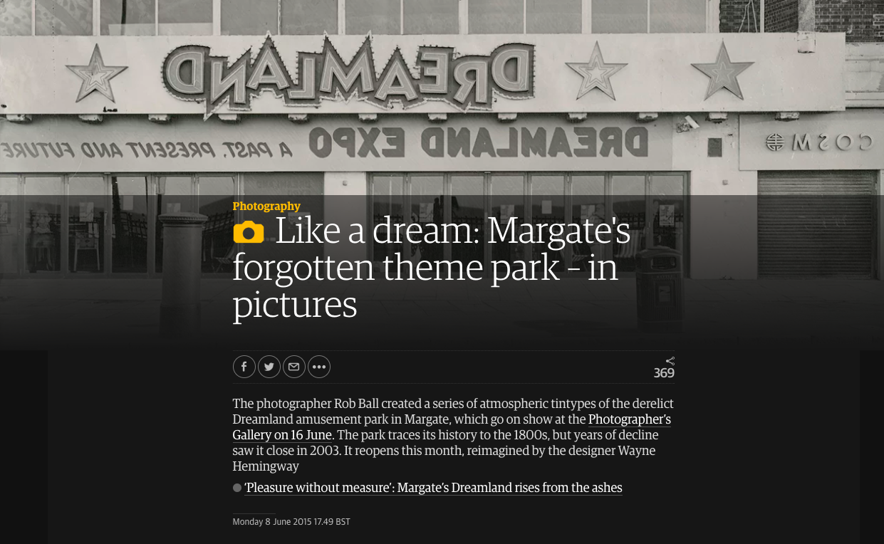 Dreamlands in  The Guardian