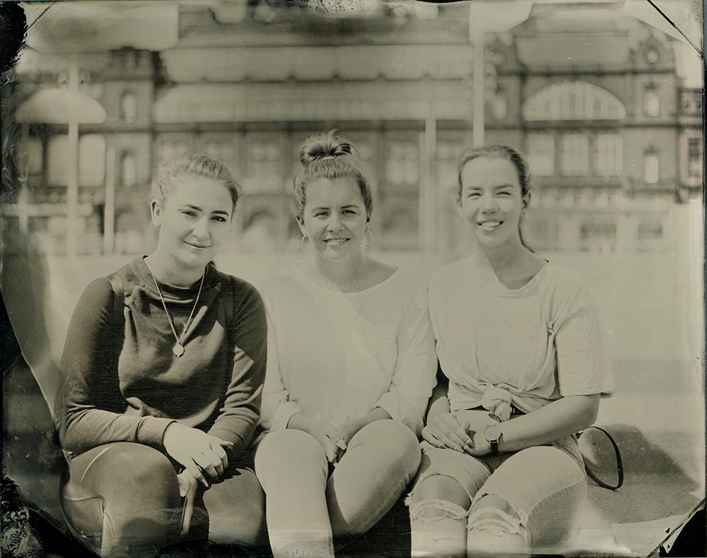 Dominika, Megan and Millie