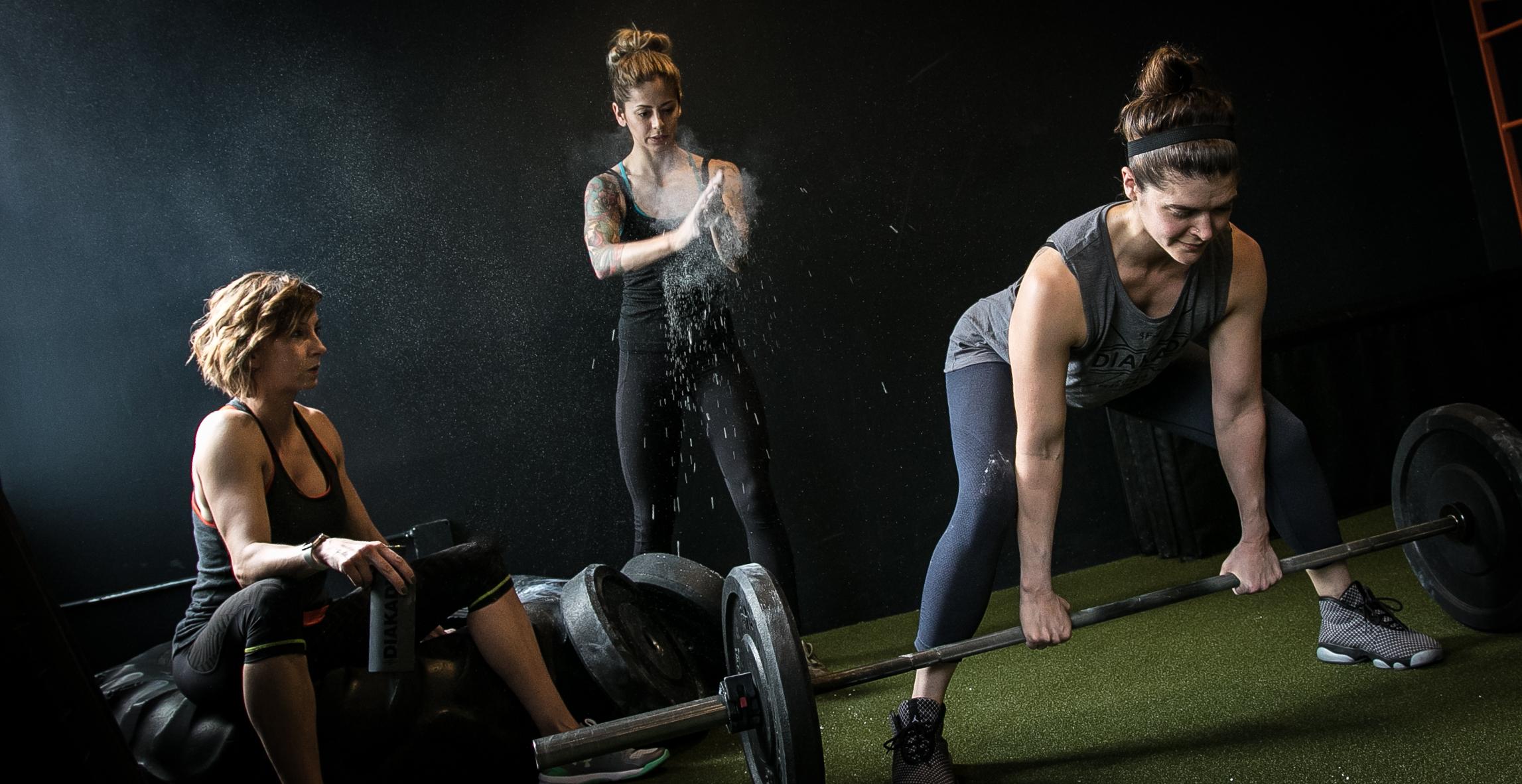 DIAKADI Trainers (L to R):  Anka Urbahn ,  Nicolette Amarillas , and  Joanna Hoch .