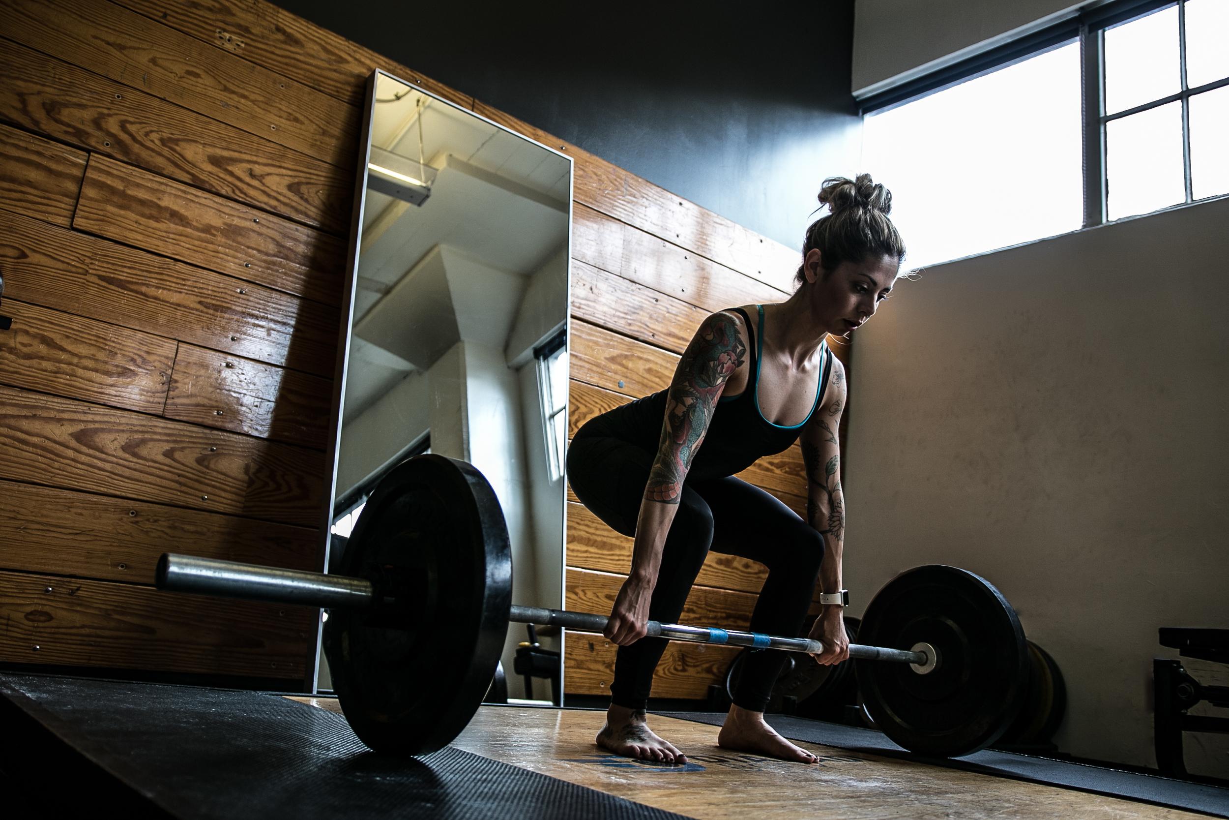 Trainer Nicolette Amarillas , CHEK Practitioner 1 certified.