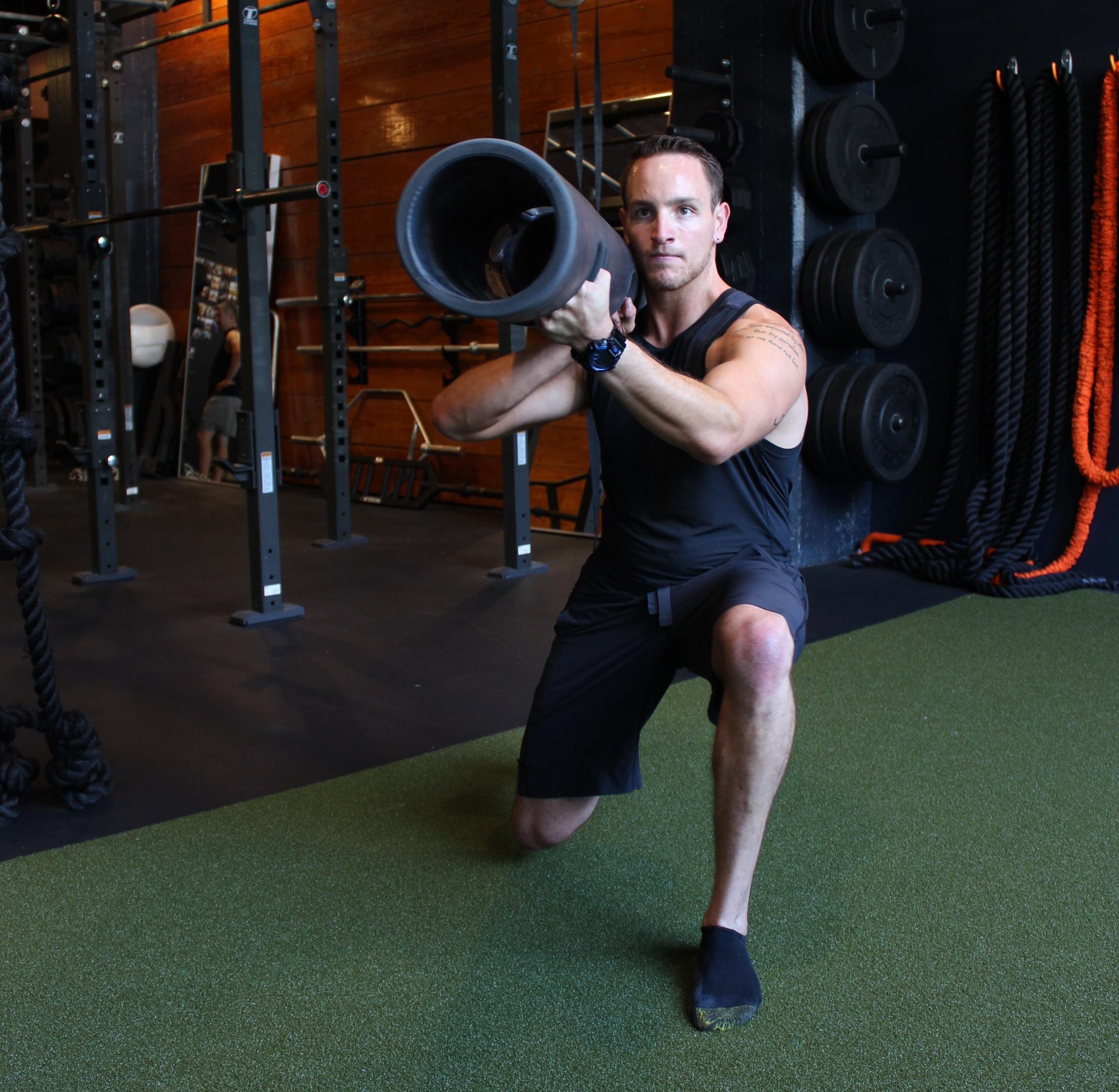 Trainer Austin Lopez , NSCA certified.
