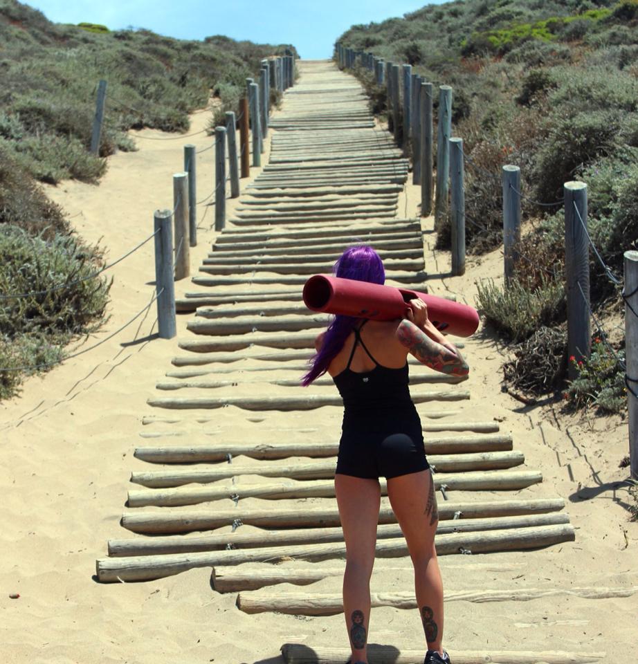 DIAKADI Trainer  Nicolette Amarillas  is a life adventurer in every sense of the word.