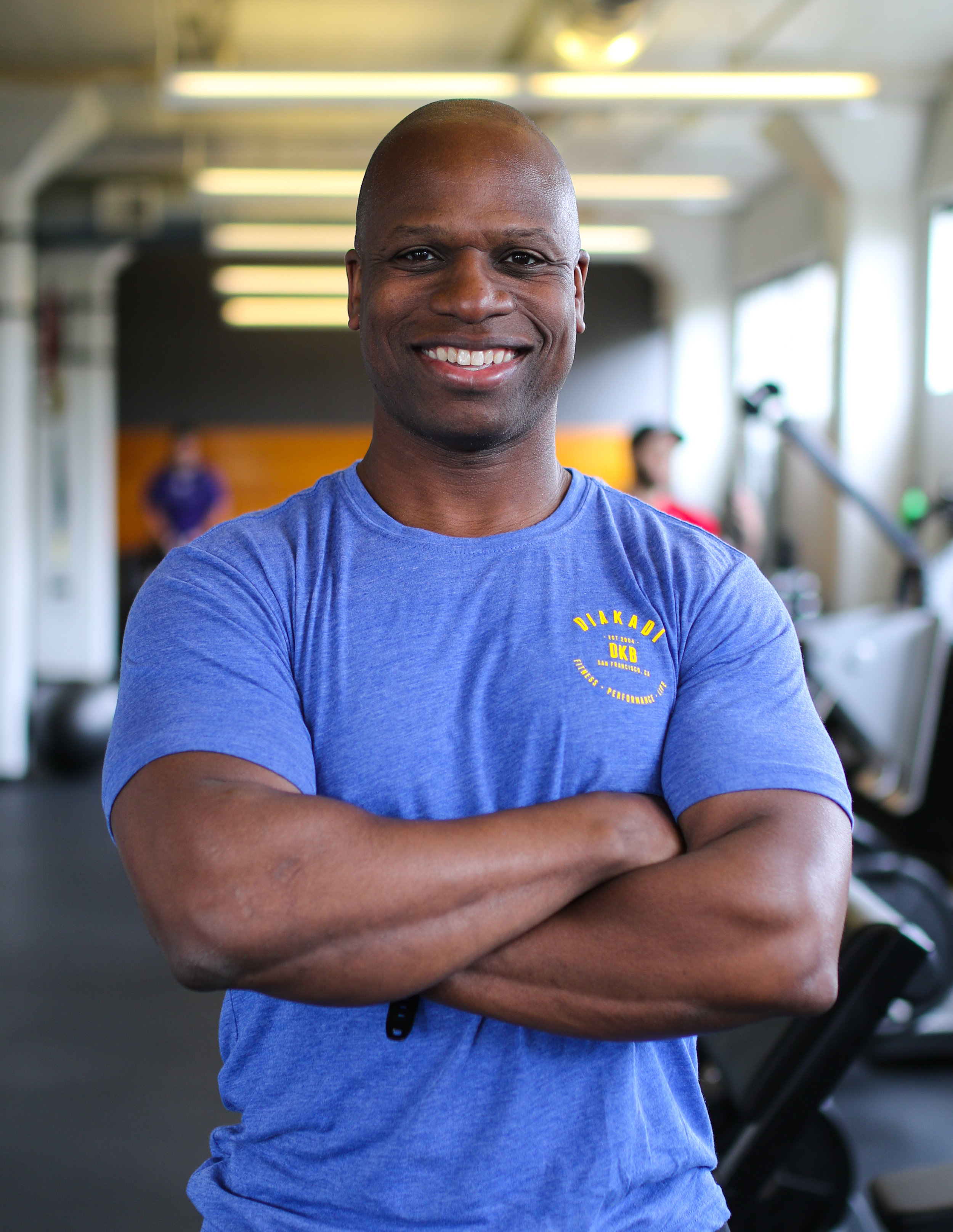 "DAVE ROBINSON    CLICK FOR BIO    ""I absolutely love working with people and I'm very passionate about health and fitness and taking care of your body. If you need help getting in shape, come in for a free consultation."""