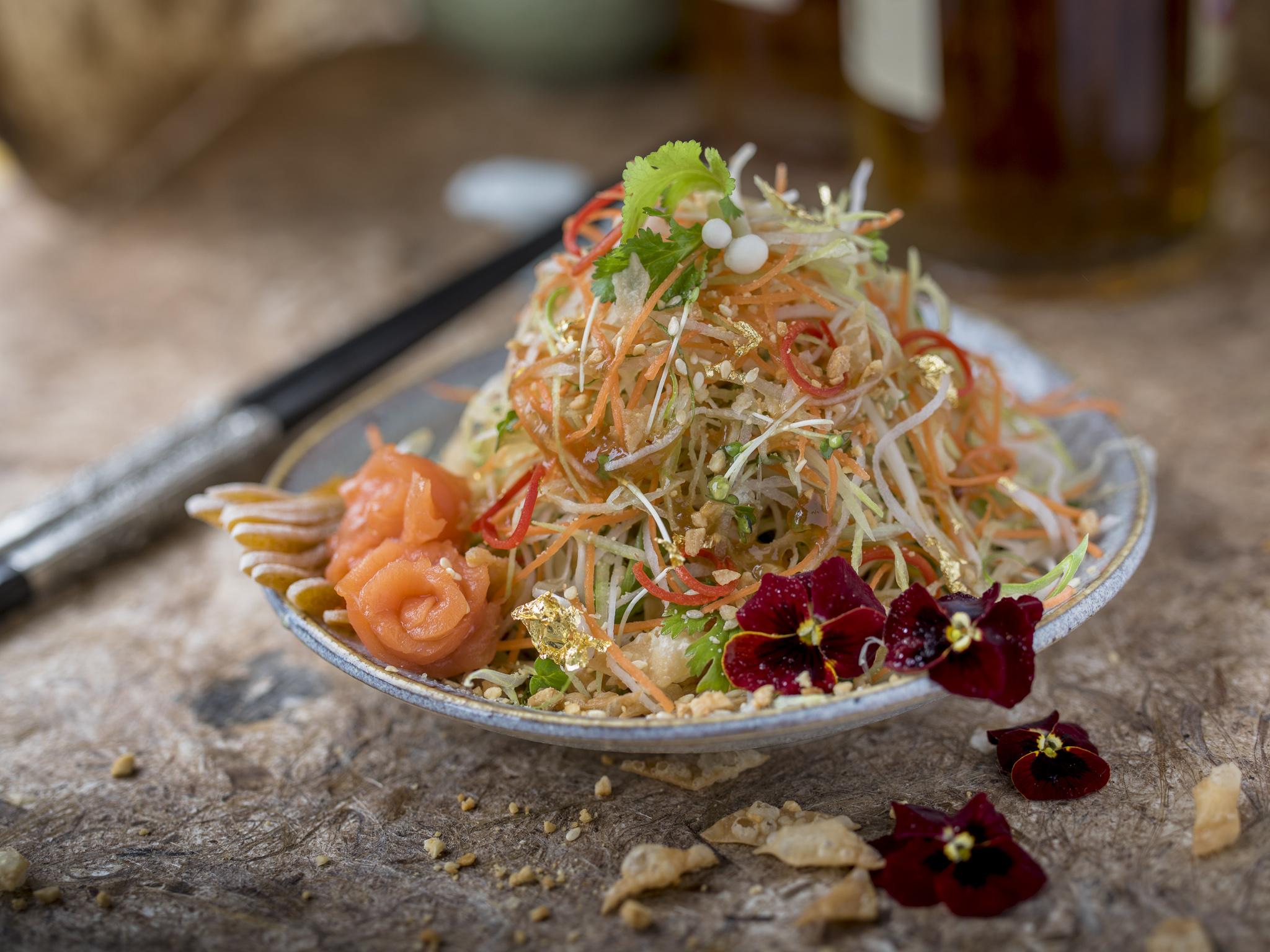 Kai Mayfair Yee Sang (Chinese New Year Salad).jpg