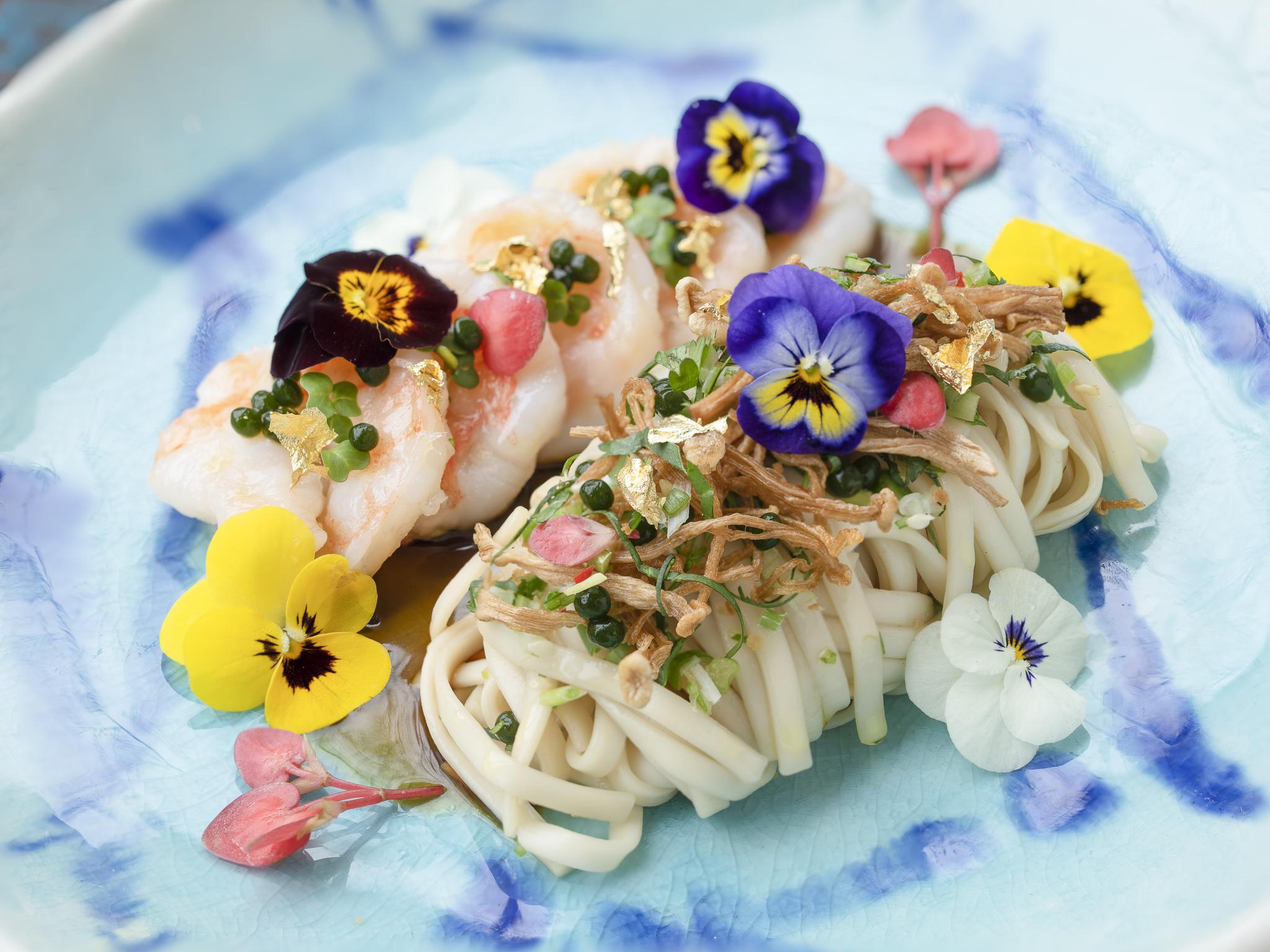 Kai Mayfair - Lai Mien Noodle with Prawns and Enoki Mushrooms.jpg