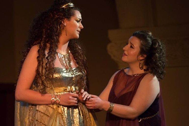 As Belinda in  Dido & Aeneas