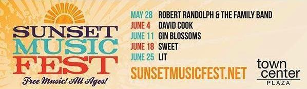 sunset music fest calendar