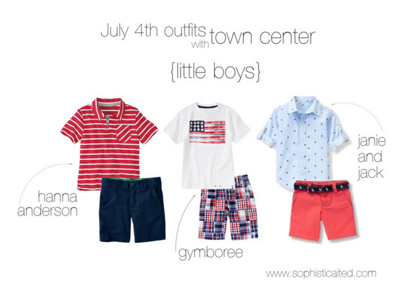 little boys outfits for the 4th of July