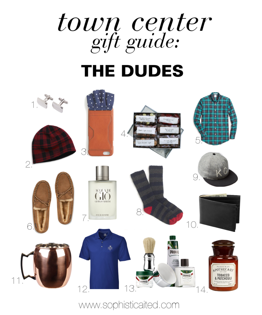 Gift Guides for Guys ONLY