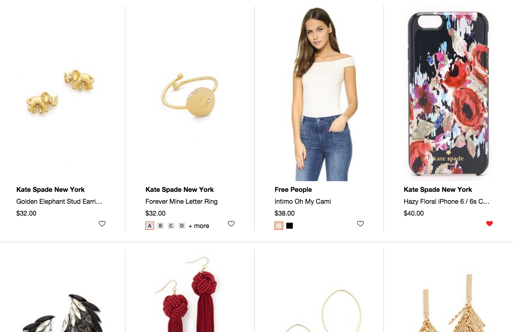 How to shop on Shopbop