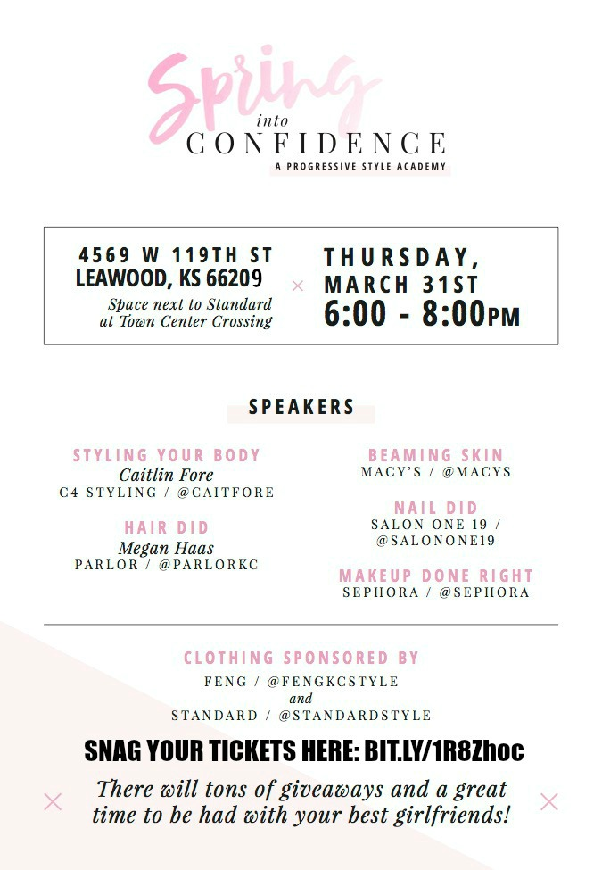 Spring into Confidence at Town Center Crossing