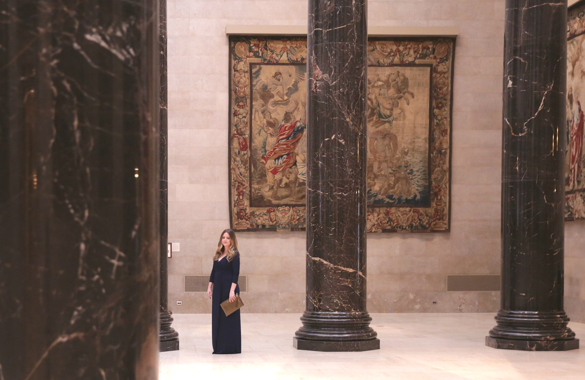 Party Arty at the Nelson Atkins formal look