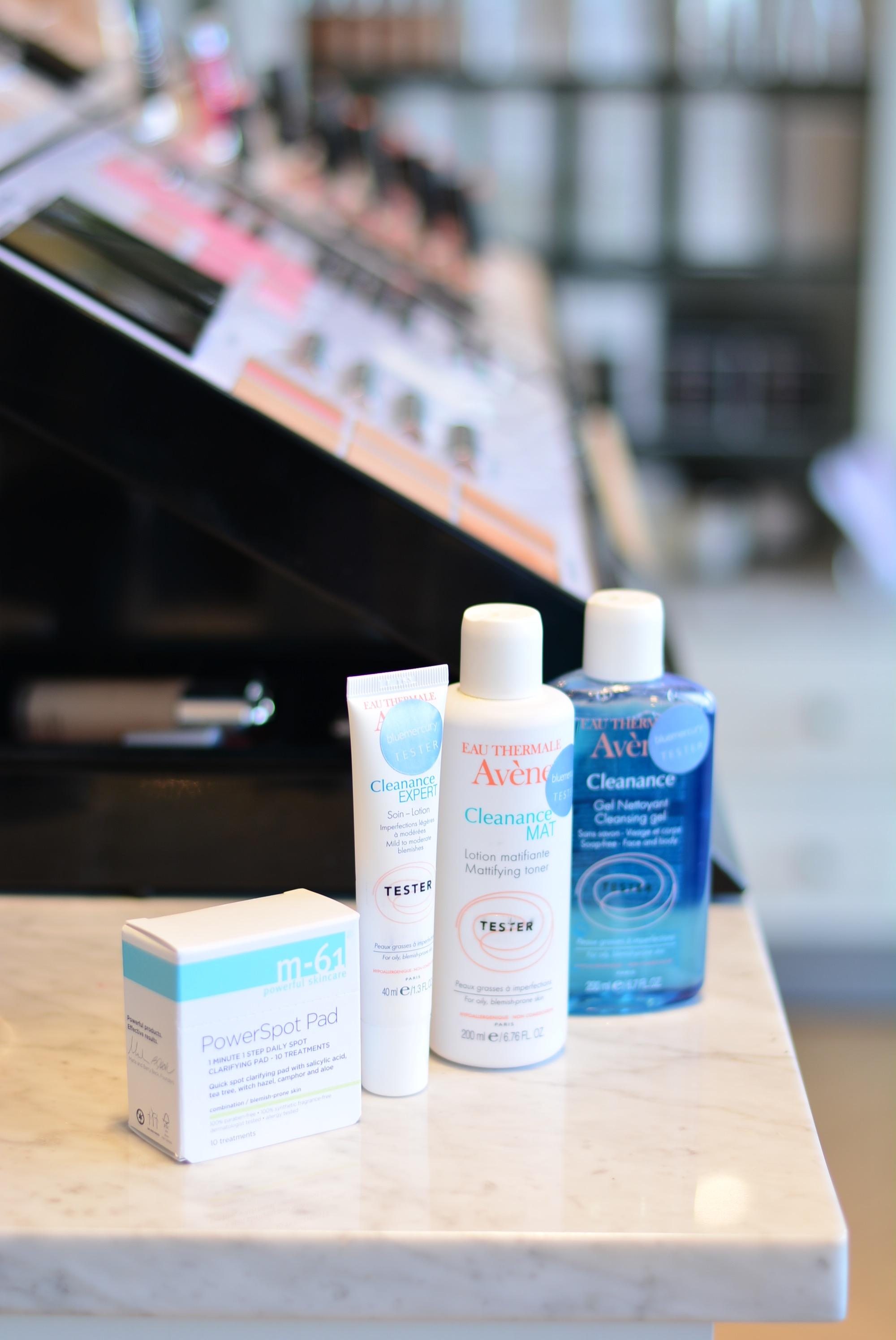 Acne skin care at Bluemercury