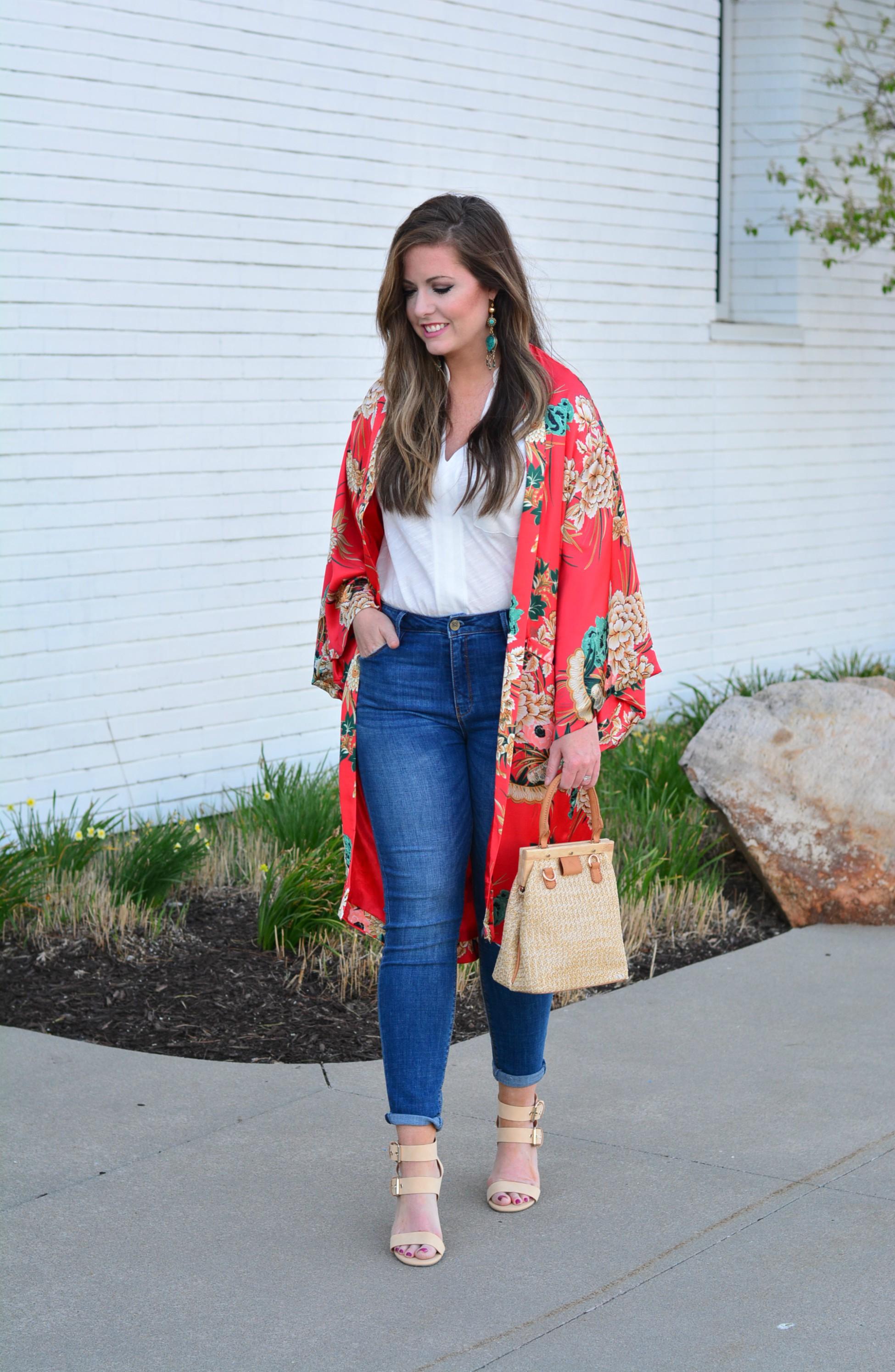 Floral Kimono - Sophisticaited