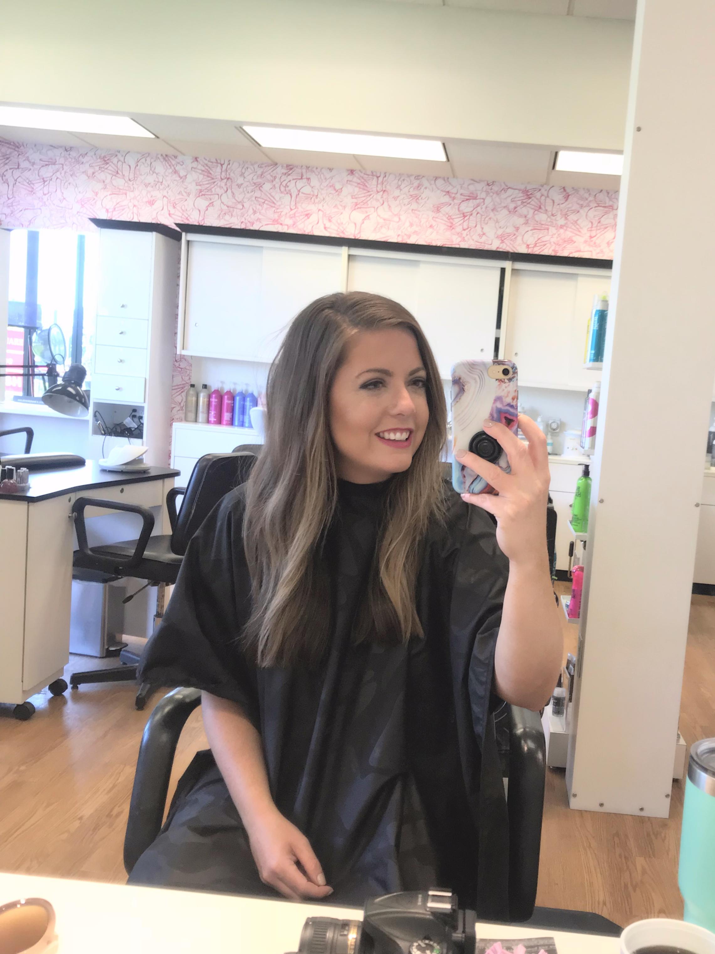 Hair got chopped by Beauty Brands