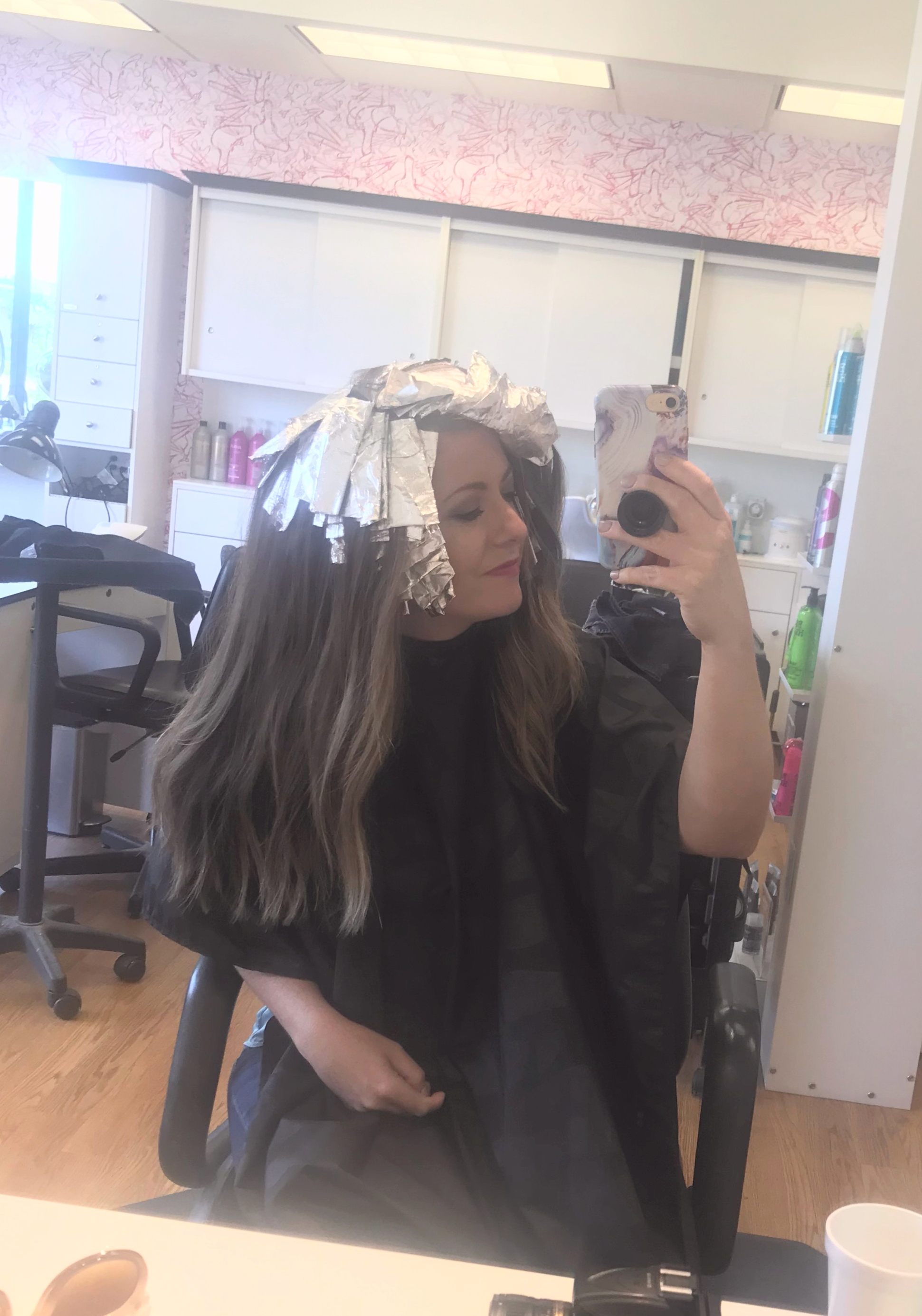 The all over foils are in at Beauty Brands