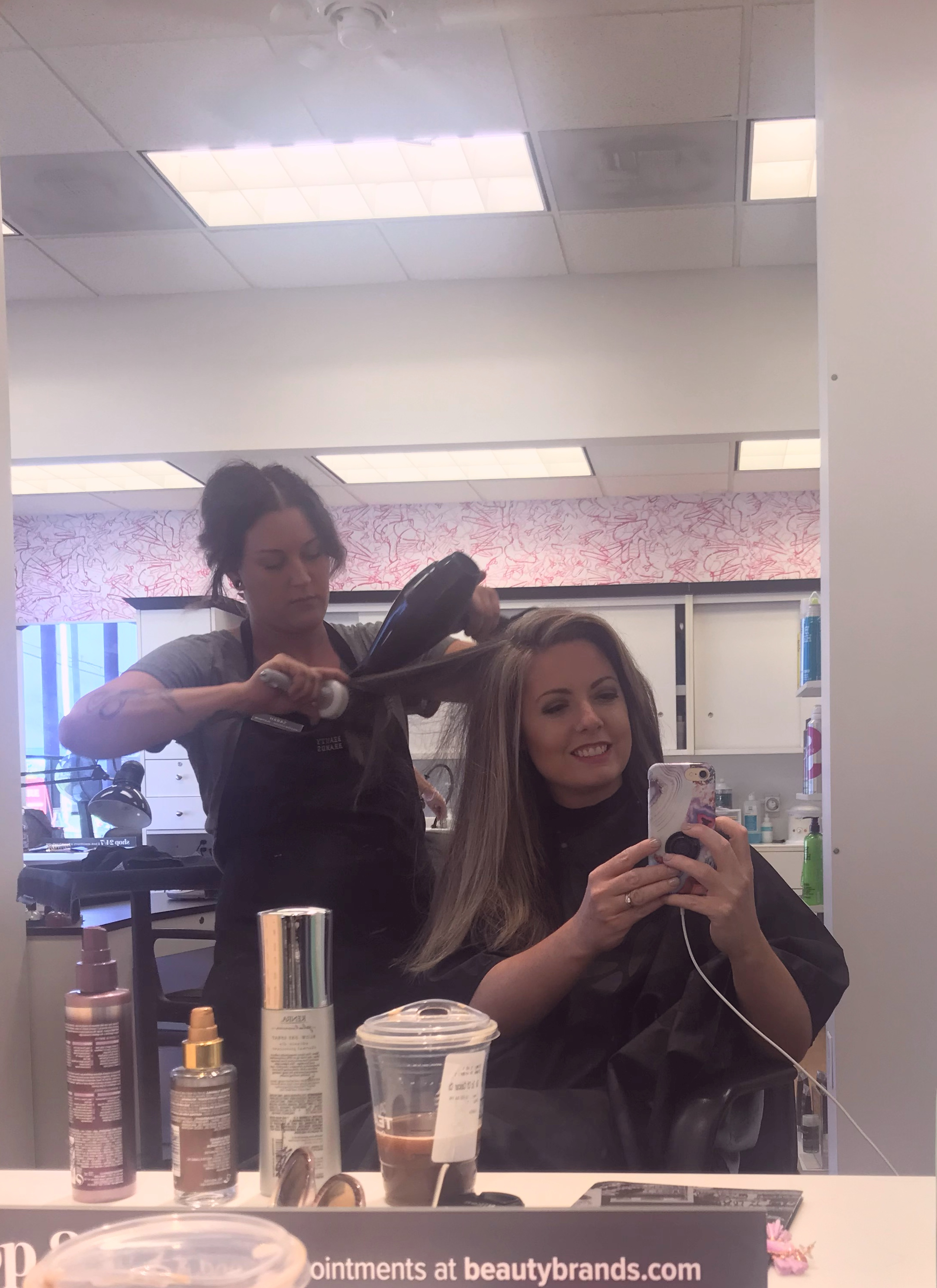 The blowout at Beauty Brands