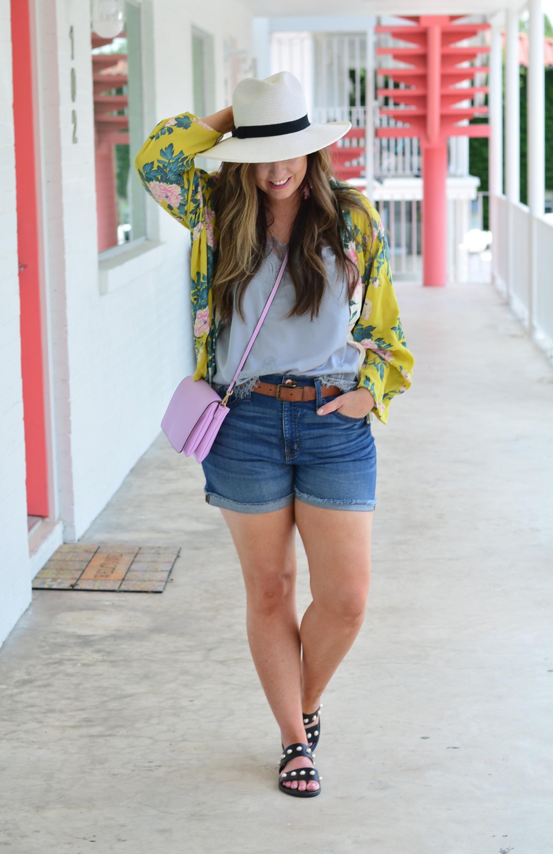 Summer kimono outfit