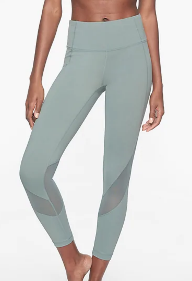 Sage green Athleta work out pants