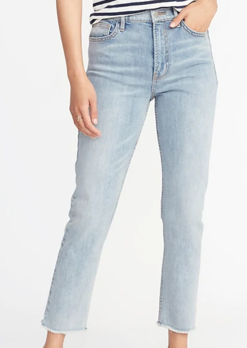 Light wash Mom jeans