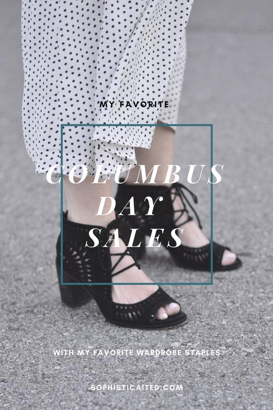 The Best Columbus Day Sales + My Favorite Wardrobe Staples