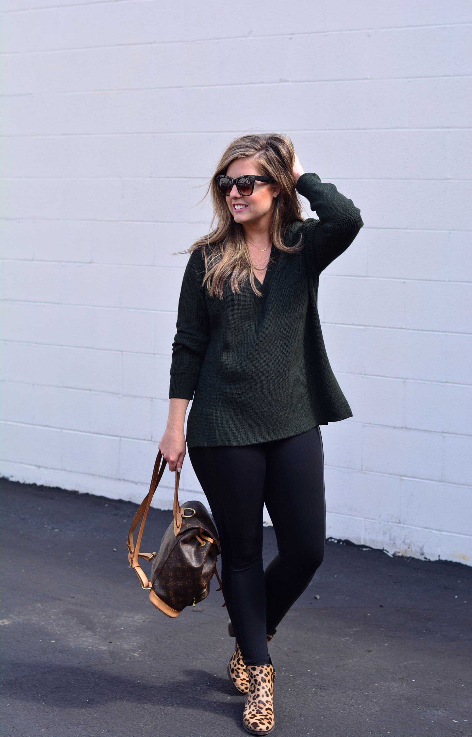 Athleta casual fall outfit | Sophisticaited | Cait Fore