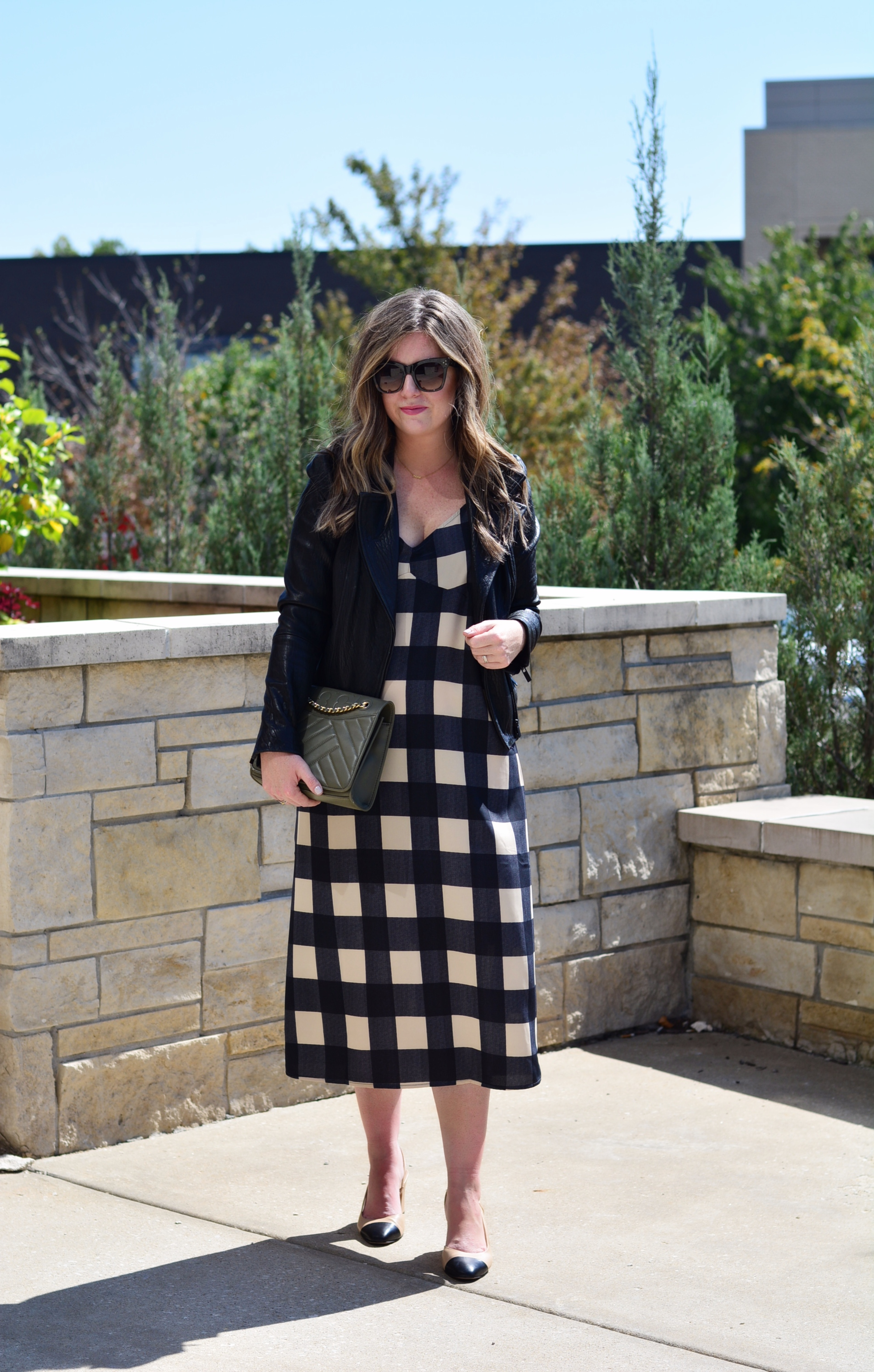 Gingham Dress for Holiday Parties | Sophisticaited | Cait Fore