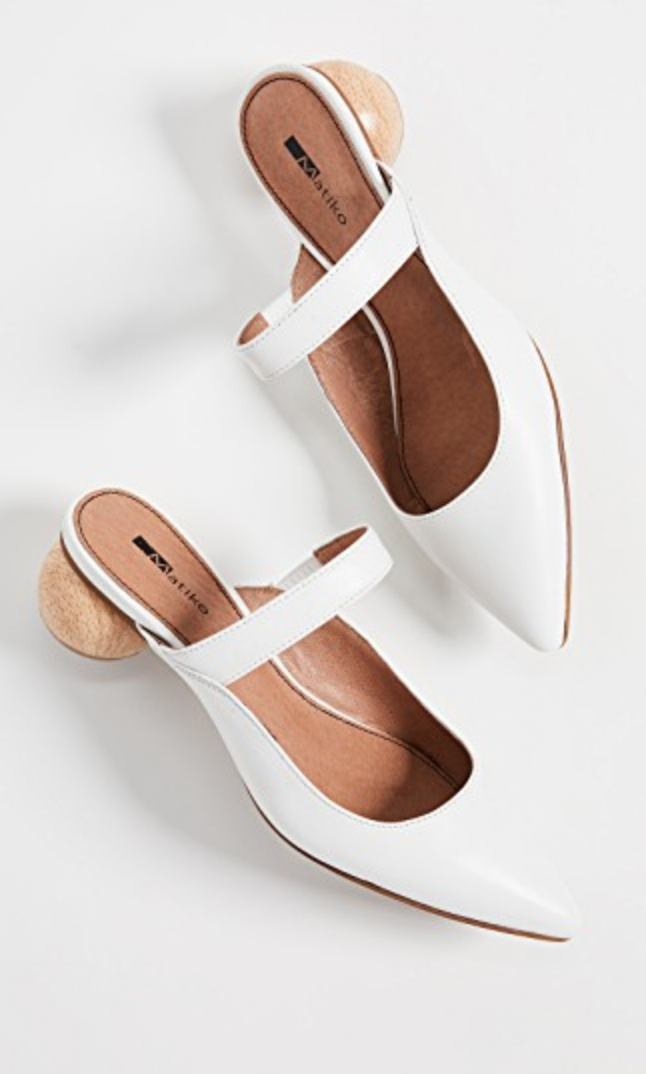 WhiteShoes - There are so many styles in this color that will update every look this spring. And it will be so crisp and fresh!