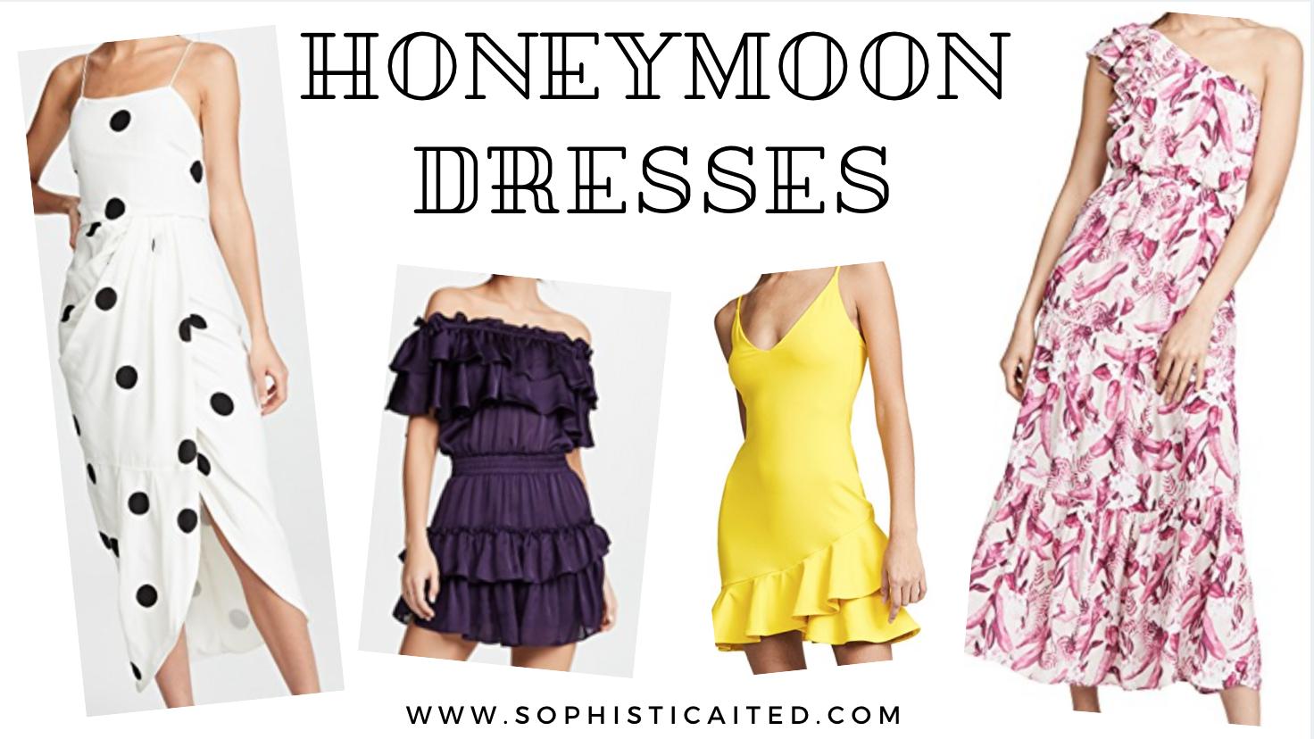 Honeymoon Dresses | Sophisticaited | Cait Fore