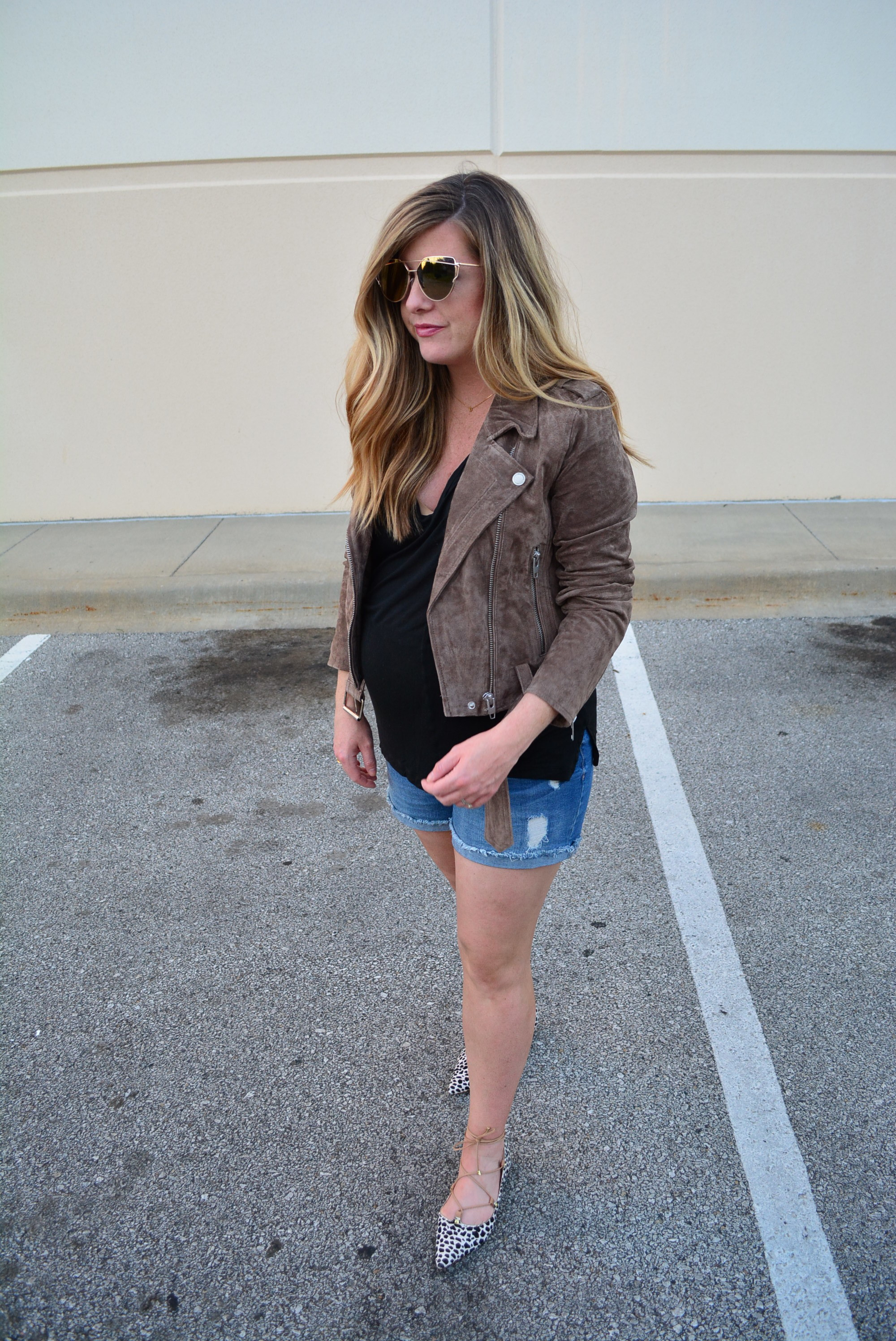 The best suede jacket from the NSALE -