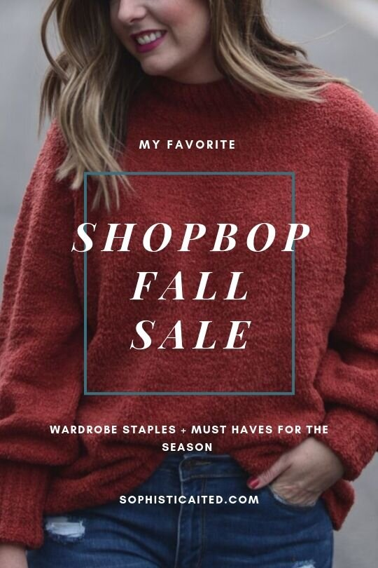 ShopBop Sale Picks 2019